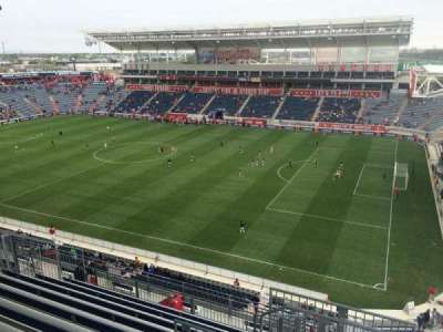 Toyota Park, section: 203, row: 13, seat: 13