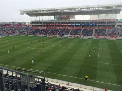 Toyota Park, section: 204, row: 4, seat: 29
