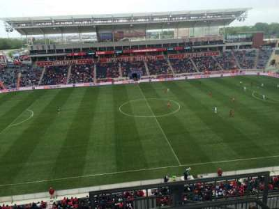 Toyota Park, section: 208, row: 13, seat: 1