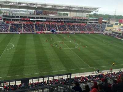 Toyota Park, section: 209, row: 13, seat: 1
