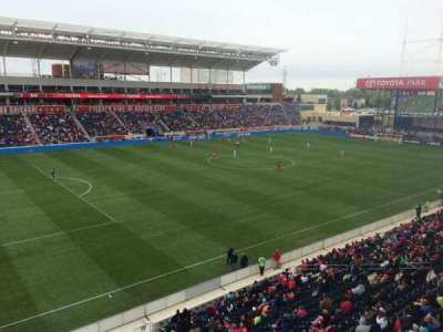Toyota Park, section: 211, row: 1, seat: 1