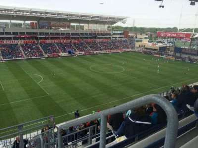 Toyota Park, section: 211, row: 13, seat: 1