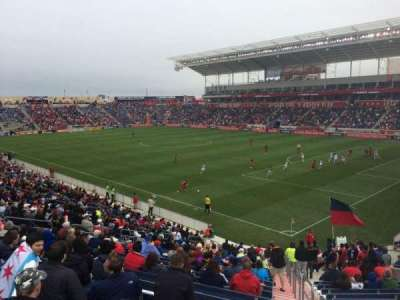 Toyota Park, section: 102, row: 24, seat: 1