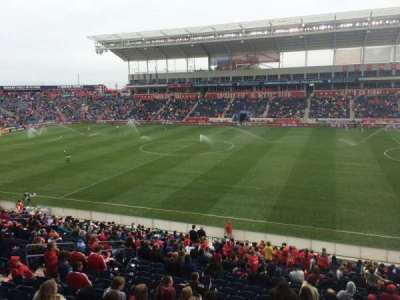 Toyota Park, section: 105, row: 25, seat: 7