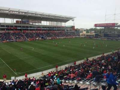 Toyota Park, section: 112, row: 25, seat: 7