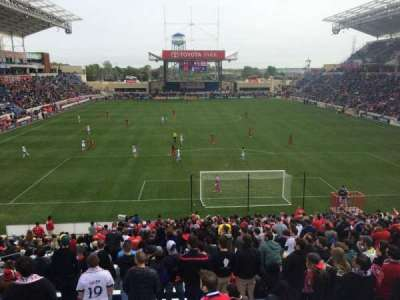Toyota Park, section: 118, row: 25, seat: 9