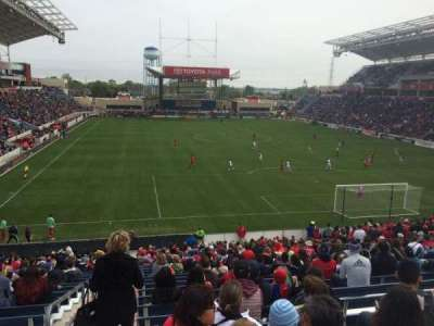 Toyota Park, section: 119, row: 27, seat: 8