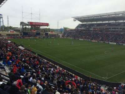 Toyota Park, section: 123, row: 25, seat: 10