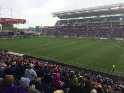 Toyota Park, section: 125, row: 20, seat: 1