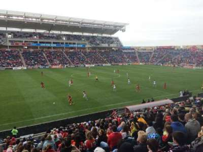 Toyota Park, section: 130, row: 20, seat: 22