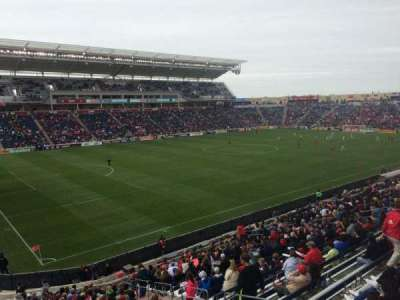 Toyota Park, section: 133, row: 25, seat: 6