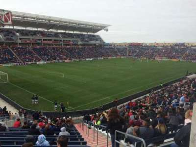 Toyota Park, section: 134, row: 27, seat: 1