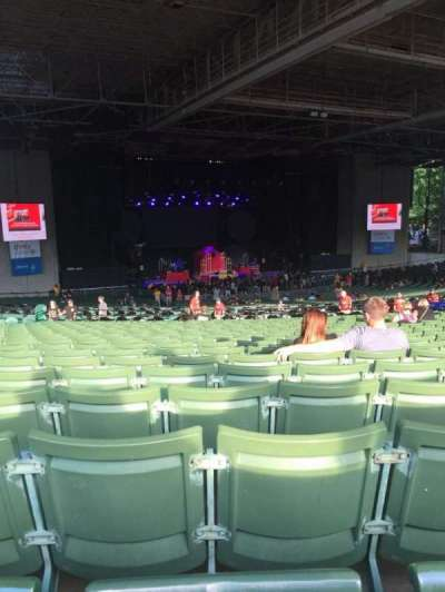 Xfinity Center, section: 7, row: X, seat: 29