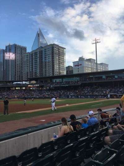 BB&T Ballpark (Charlotte), section: 118, row: E, seat: 11
