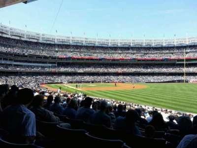 Yankee Stadium, section: 109, row: 24, seat: 7
