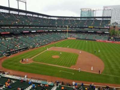 Oriole Park at Camden Yards section 320
