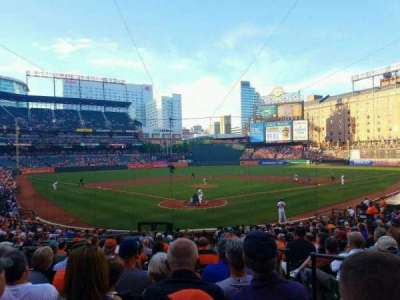 Oriole Park at Camden Yards, section: 36, row: 23, seat: 2