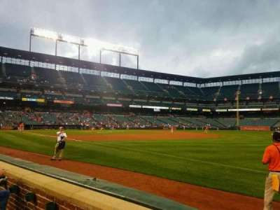 Oriole Park at Camden Yards, section: 12, row: 2, seat: 10