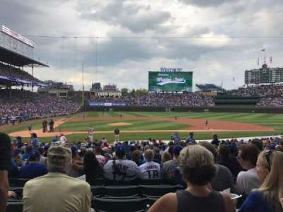 Wrigley Field, section: 127, row: 11, seat: 106