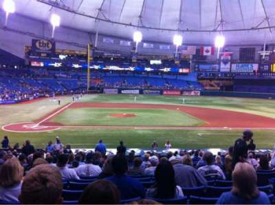 Tropicana Field, section: 112, row: EE, seat: 6