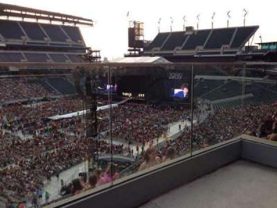 Lincoln Financial Field, section: C17, row: 7, seat: 1