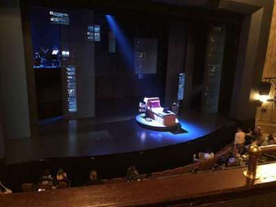 Music Box Theatre, section: Mezz, row: B, seat: 7