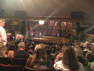 Richard Rodgers Theatre, section: Orchestra, row: U, seat: 16