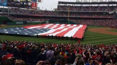 Nationals Park, section: 109, row: MM, seat: 12