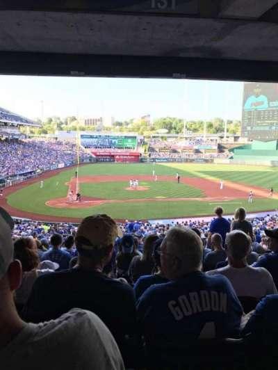 Kauffman Stadium, section: 231, row: PP, seat: 7