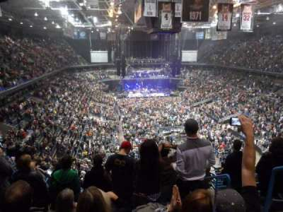 BMO Harris Bradley Center, section: 413, row: M, seat: 4
