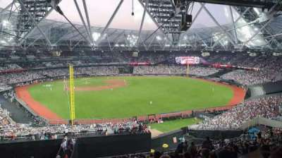 London Stadium section 227