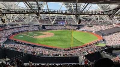 London Stadium section 223