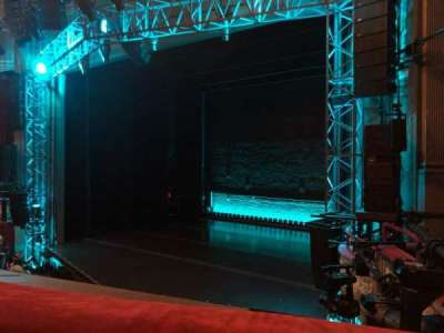 Broadhurst Theatre, section: Mezzanine R, row: A, seat: 20
