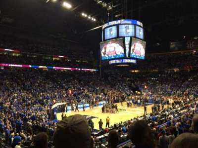 Bridgestone Arena, section: 103, row: D