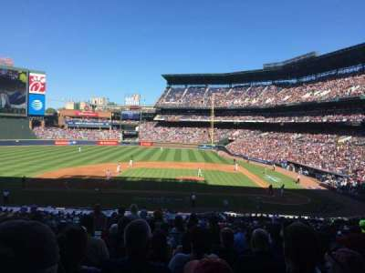 Turner Field, section: 208L, row: 8, seat: 109