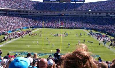 Bank of America Stadium, section: 202, row: 16, seat: 9
