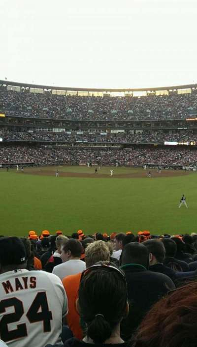 AT&T Park, section: 144, row: 27, seat: 10