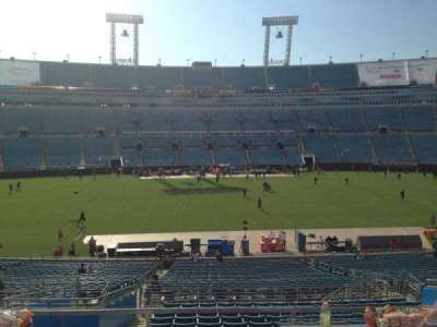 EverBank Field, section: 236, row: A, seat: 14