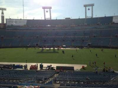 EverBank Field, section: 234, row: A, seat: 6