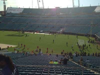 EverBank Field, section: 230, row: A, seat: 13