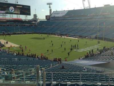 EverBank Field, section: 226, row: F, seat: 11
