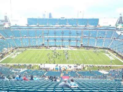 EverBank Field, section: 436, row: BB, seat: 17