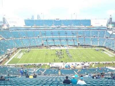 TIAA Bank Field, section: 437, row: BB, seat: 15