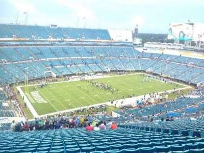 EverBank Field, section: 442, row: EE, seat: 12
