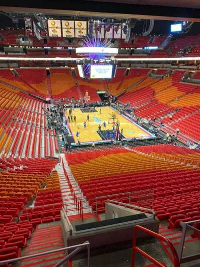 American Airlines Arena section 308