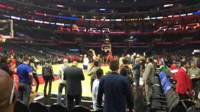 Staples Center, sección: 105, fila: C, asiento: 1
