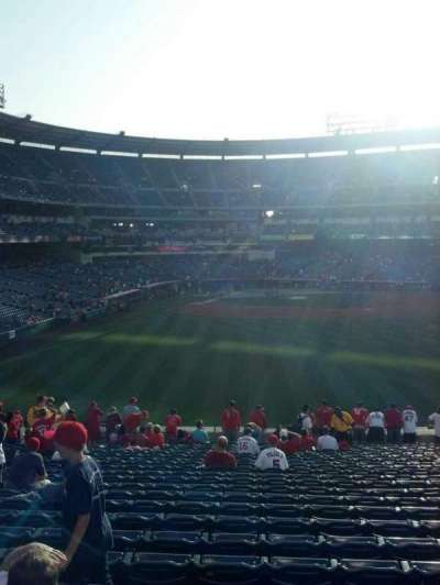 Angel Stadium section 237