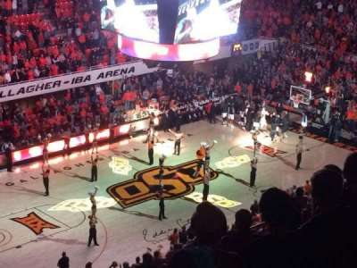 Gallagher-Iba Arena, section: 307, row: 13, seat: 1