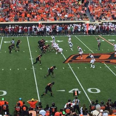 Boone Pickens Stadium section 207