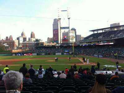 Comerica Park, section: 132, row: 25, seat: 4